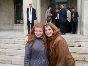 Adnana Leizeriuc si prof. Dana Capbun
